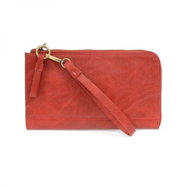 So Chic Convertible Wristlet & Wallet Red