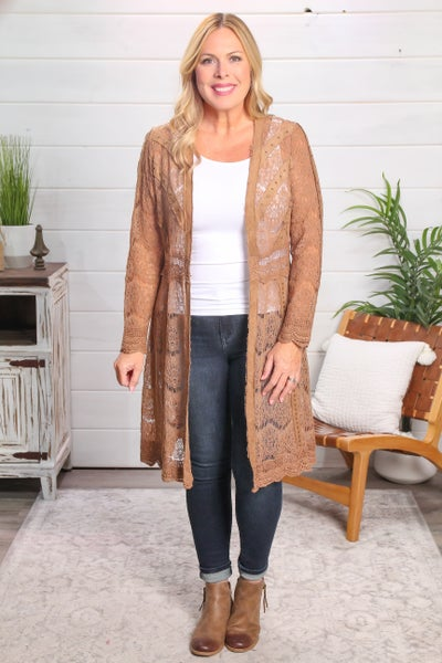 In a League of Its Own Jacket Camel *Final Sale*