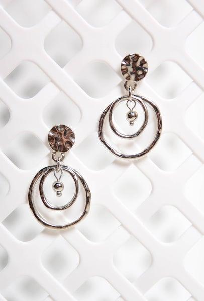 Choose Forever Earrings Silver