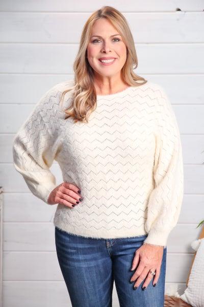 Zigzag Sweater *Final Sale*