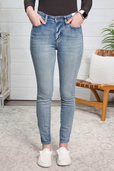 Destiny Awaits High Rise Skinny Fit Jeans