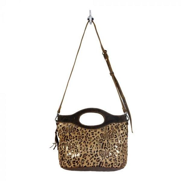 Myra Bag Luxe in Leopard Bag