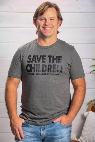 Save the Children Men's Tee