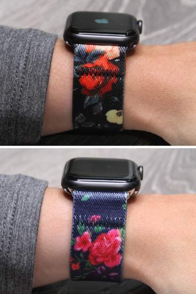 Apple Watch Band Stretch  Floral