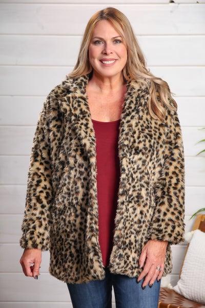 Poppin' Tags Leopard Jacket *Final Sale*