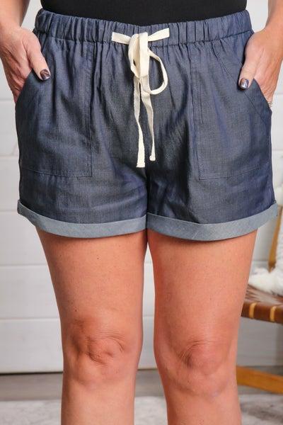 Little Girl Blue Shorts