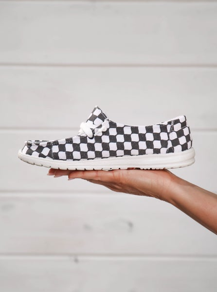 Hey Girl Shoes Checkered