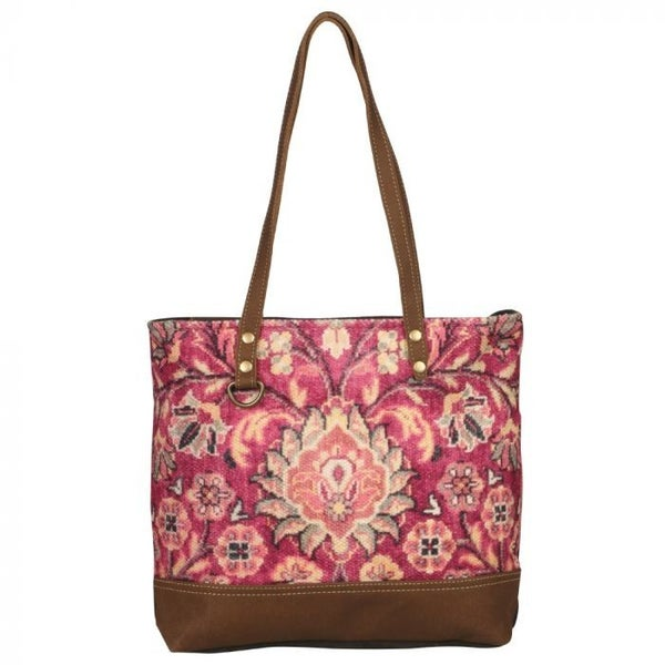 Myra Bag Blossomy Pink Tote