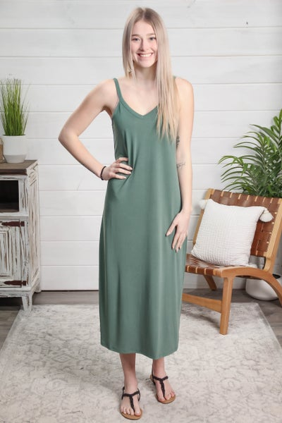 Go Your Own Way Dress Teal
