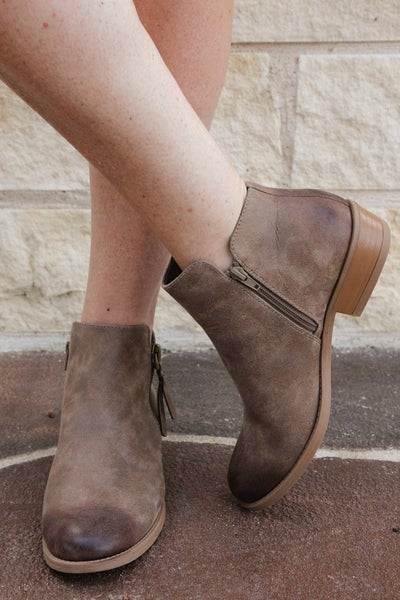Can't Deny It Booties Hickory *Final Sale*