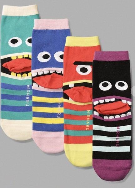 Monster Socks (4 colors)