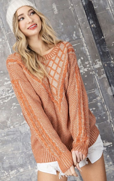 Crosshatch Sweater