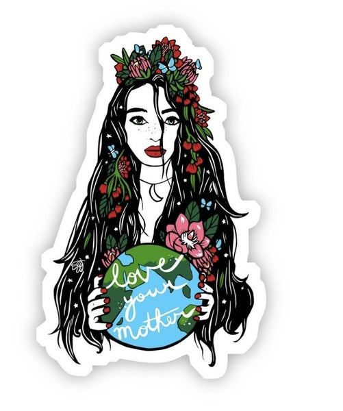 Love Your Mother Earth Vinyl Sticker