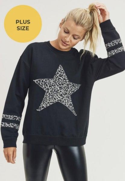 Cheetah Stars and Stripes (Plus Size)