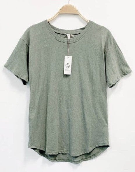 100% Cotton Basic Tee (2 colors)