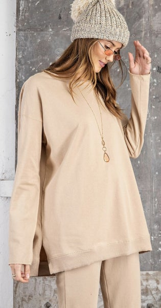 Terry Knit Tunic