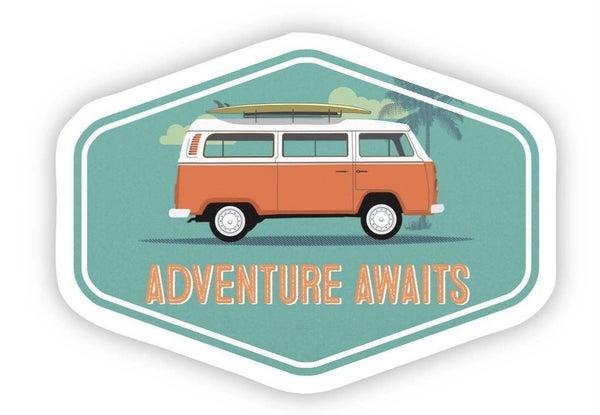 Adventure Awaits Vinyl Sticker