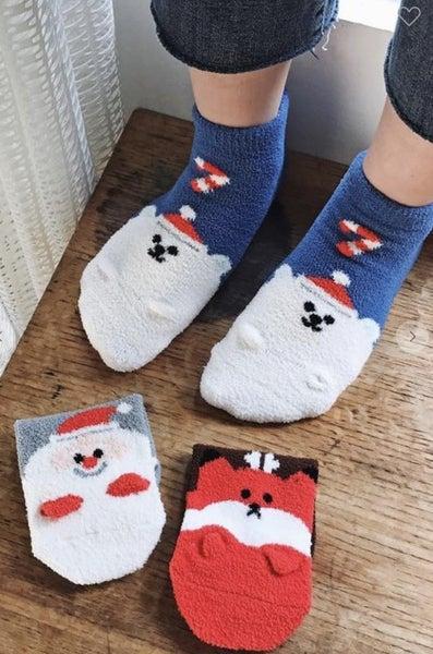 Cozy Christmas Socks (4 styles)