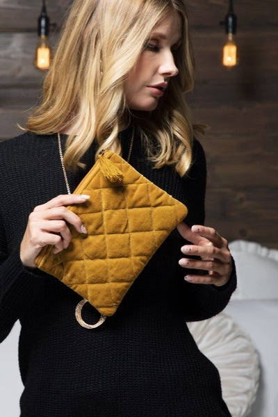Quilted Pouch (2 colors)