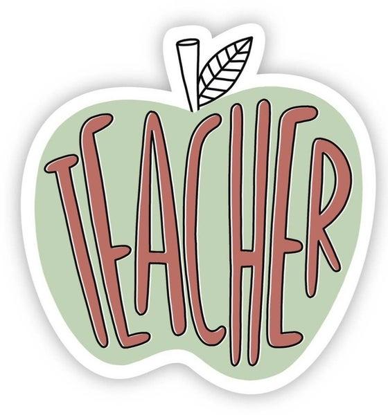 Teacher Vinyl Sticker