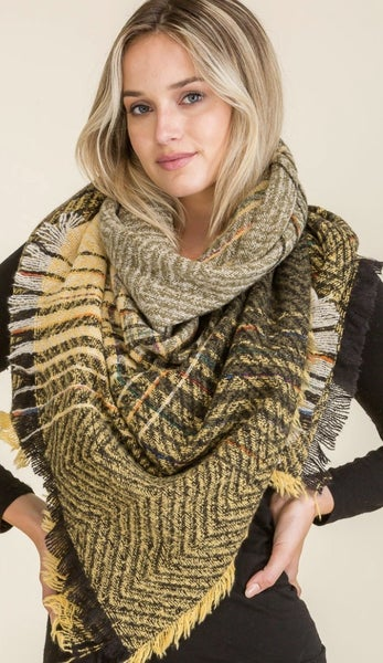 Fashion Blanket Scarf (3 colors)