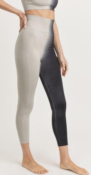 Ribbed Split Dye Seamless Legging