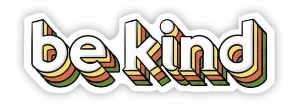 Be Kind Vinyl Sticker