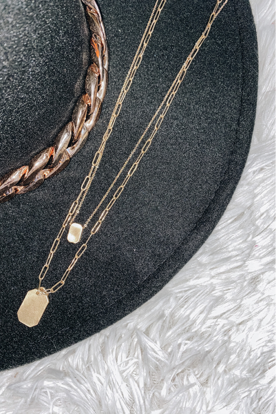 Circle Around Necklace-Gold