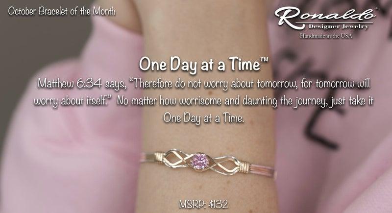 One Day at a Time Ronaldo Bracelet