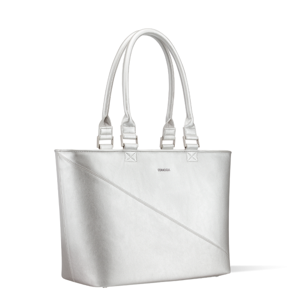 Virginia Tote Cooler-Silver *Final Sale*
