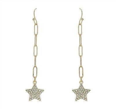 Fond Memories Earrings-Gold