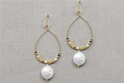 Loss Time Earrings-Gold