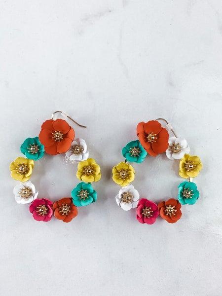 Wild Florals Earrings