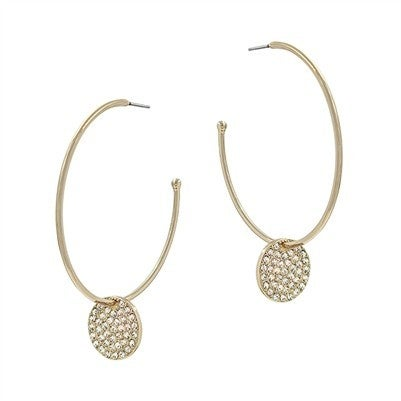 Such A Delight Earrings-Gold