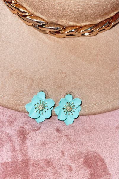 Charming Confidence Earrings-Mint