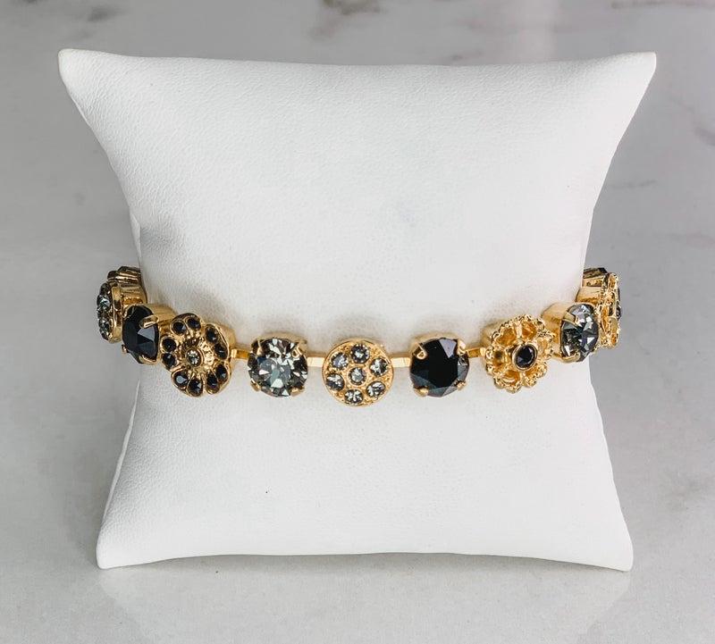 Victoria Lynn Flower Sparkle Bracelet