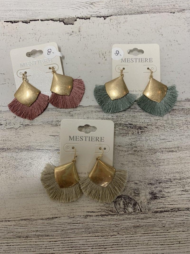 Sipping in Seaside Earrings