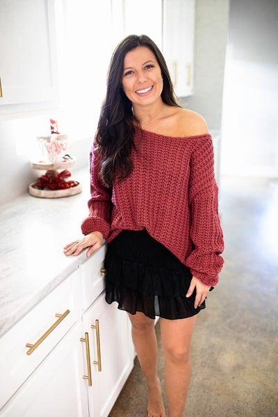 Smocked Crush Skirt