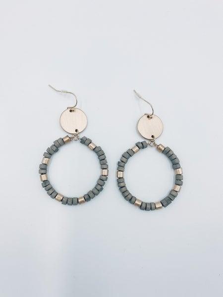 Best Reminder Earrings-Grey