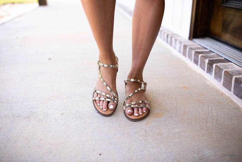 Face The Fact Sandals *Final Sale*