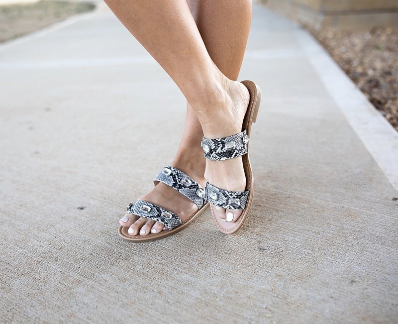Sneaky Little Thing Sandals *Final Sale*