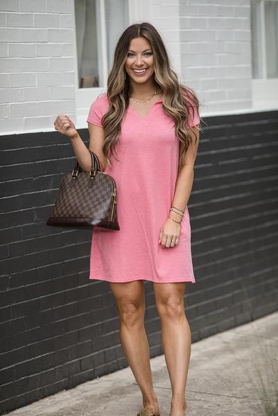 Summer Wonderland Dress - Lt. Coral
