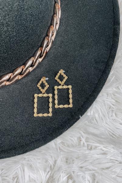 Ready Romance Earrings-Gold