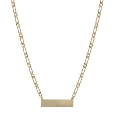 Weekend Made Necklace-Gold