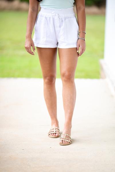 Sunshine All Over Shorts - White