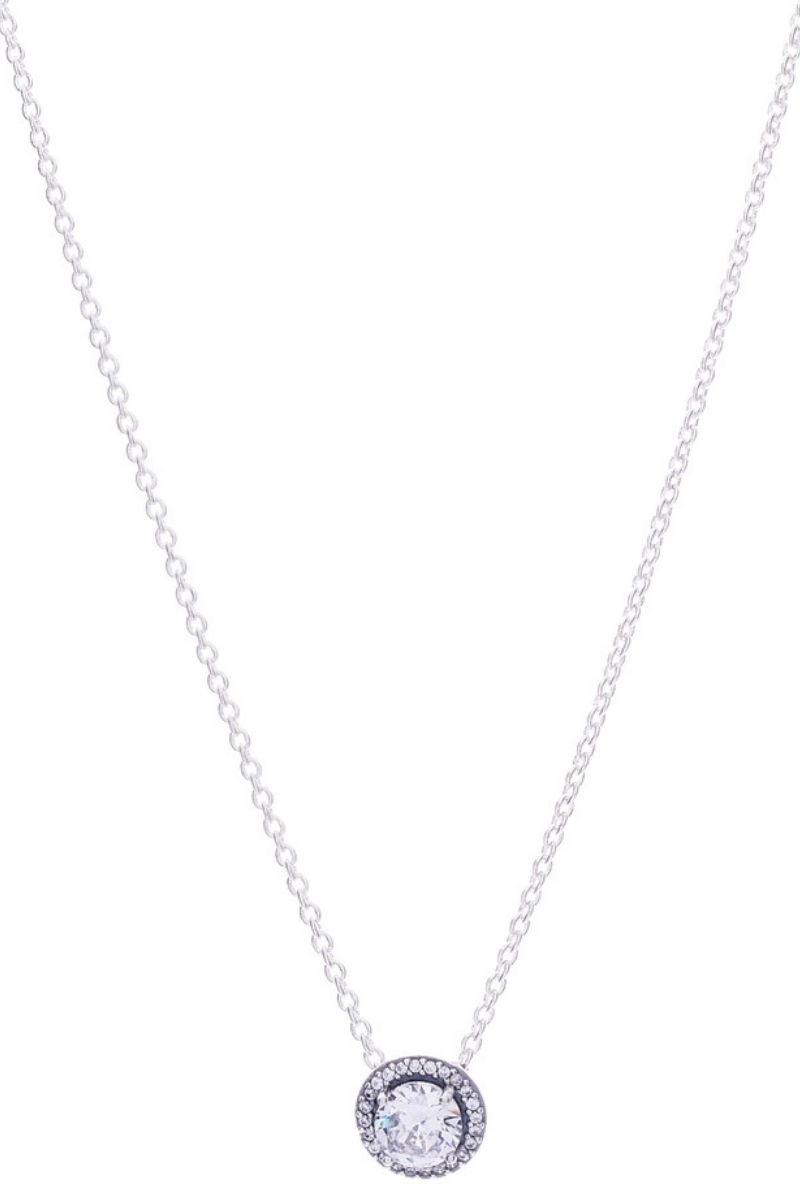 Victoria Lynn CZ Fancy Single Drop Necklace