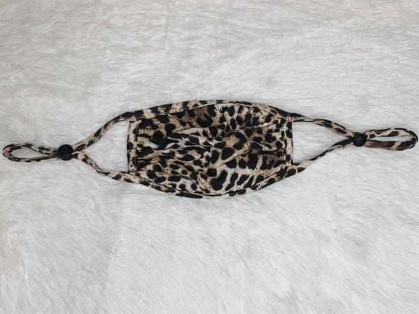 Leopard Love Mask