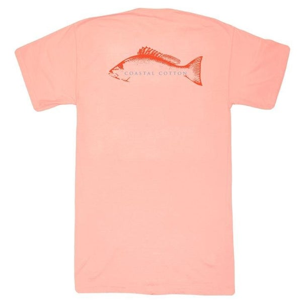 Coastal Cotton - Melon Snapper S/S Tee
