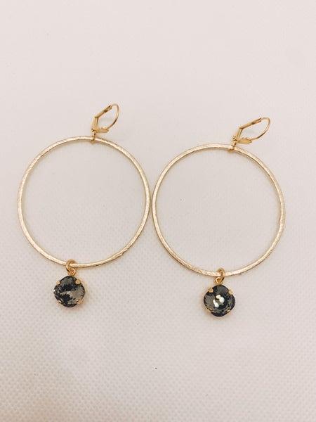 Victoria Lynn Large Hoop Earring