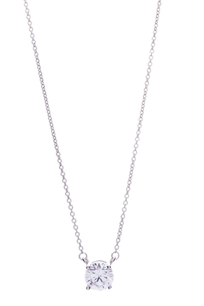 Victoria Lynn CZ Single Necklace